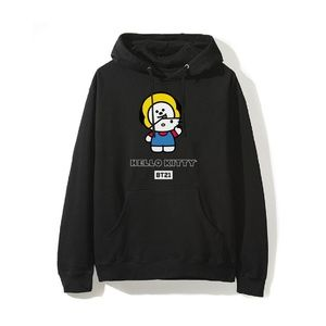 BT21 X Hello Kitty CHIMMY Masked Black Hoodie